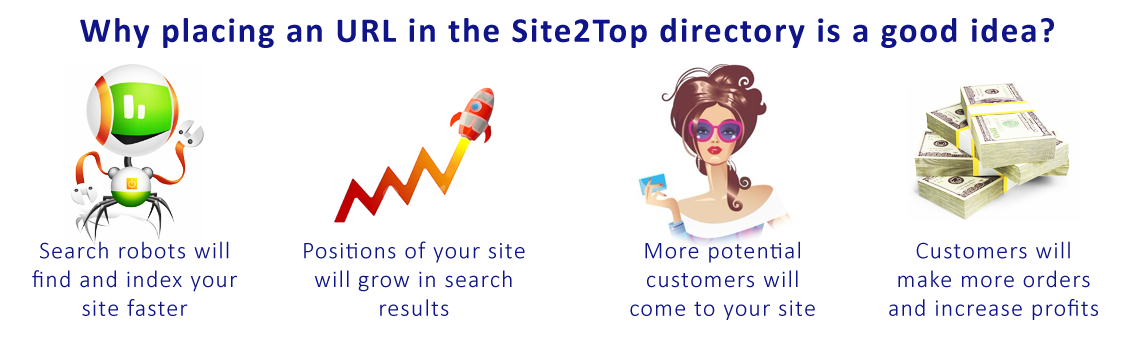 Why placing a link in the Site2Top directory is a good idea.